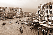 Venice Vintage Print by Holger Ostwald