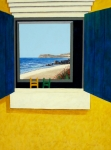 Baja Art Card Painting Originals - Ventana by Chris MacClure