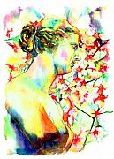 Featured Paintings - Venus De Milo by Christy  Freeman