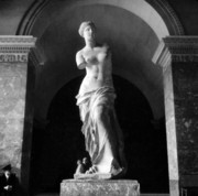 Greek Sculpture Posters - Venus de Milo Poster by Hans Mauli