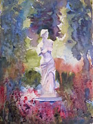 Northern Michigan Paintings - Venus in the Garden by Sandra Strohschein