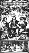 Winemaking Photos - Venus, Podagra And Bacchus, 1687 by Science Source