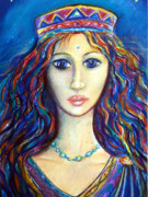 Sacred Pastels Posters - Venus Poster by Tania Williams