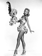 Showgirl Photo Prints - Vera-ellen, Ca. 1950s Print by Everett