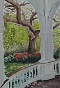 Veranda Paintings - Veranda by Ally Benbrook