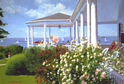 Verandah Paintings - Verandah by Candace Lovely