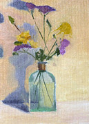 Verbena Paintings - Verbena Poster Study by Elizabeth B Tucker