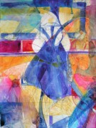 Abstracted Painting Posters - Vermeer Was Here Poster by Annika Farmer