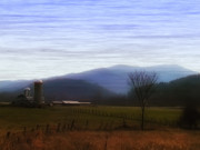 Barn Digital Art - Vermont by Bill Cannon