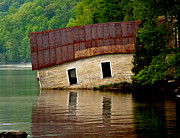 John Haldane Prints - Vermont Boathouse Print by John Haldane