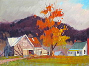 Vermont Autumn Originals - Vermont by Len Stomski
