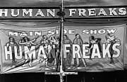 Freak Framed Prints - Vermont: Sideshow, 1941 Framed Print by Granger