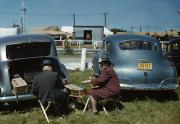 Tailgate Prints - Vermont State Fair, 1941 Print by Granger