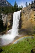 Nps Prints - Vernal Falls in Yosemite NP Print by Chris Horne