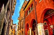 Verona Framed Prints - Verona Backstreet Framed Print by Jon Berghoff