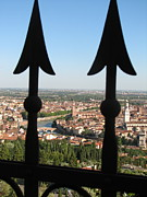 Italian Art Photo Prints - Verona- view Print by ITALIAN ART - Angelica