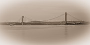 Hamilton Island Posters - Verrazano-Narrows Bridge II Poster by David Hahn