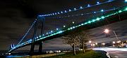 Svetlana Sewell Photo Prints - Verrazano-Narrows Bridge Print by Svetlana Sewell