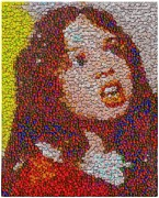Montage Mixed Media - Veruca by Paul Van Scott