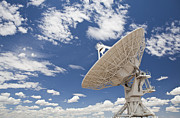 Antenna Acrylic Prints - Very Large Array Antenna Acrylic Print by Bryan Mullennix