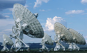 Array Framed Prints - Very Large Array Of Radio Telescopes Framed Print by Bob Christopher