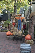 Gatlinburg Tennessee Prints - Very Unique Scarecrow Print by Eduardo Marquez