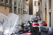 Michelangelo Framed Prints - Vespas in Florence Framed Print by Andre Goncalves