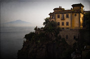 Napoli Photos - Vesuvius from Sorrento by Doug Sturgess