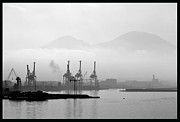Volcano Originals - Vesuvius In The Mist. by Terence Davis