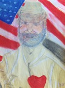 Patriot Pastels - Veteran Mike by Michael Knight