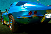 Custom Chev Photos - Vette Rear by Stuart Row