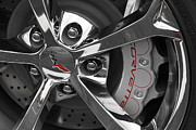 Automotive Digital Art - Vette Wheel by Dennis Hedberg