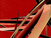 Curves Digital Art Originals - Vibrating Reed 01 by Joerg Bernhard Klemmer