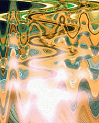 Vibrational Living Print by Dagmar Ceki