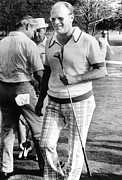 Gold Ford Photos - Vice President Ford Golfing by Everett