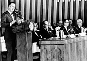 Agnew Photos - Vice President Spiro Agnew Addresses by Everett