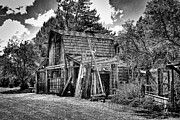 Outbuilding Framed Prints - Vics Old Barn II Framed Print by David Patterson