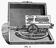 Typewriter Photos - Victor Typewriter, 1889 by Granger