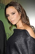 Night Out Framed Prints - Victoria Beckham At In-store Appearance Framed Print by Everett