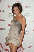Lg Posters - Victoria Beckham Wearing A Victoria Poster by Everett
