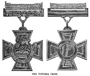 Warrant Prints - Victoria Cross, 1856 Print by Granger