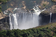 Zambesi River Photos - Victoria Falls II by Christian Heeb