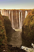 Waterfall Photos - Victoria Falls by Rob Verhoeven & Alessandra Magni