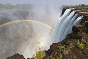Victoria Falls, Zambia, Africa Print by Yvette Cardozo