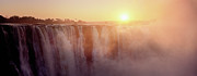 Zimbabwe Photos - Victoria Falls, Zimbabwe by Ben Cranke
