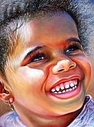 Pastel Portrait Pastels - Victoria In The Park by Dennis Rennock