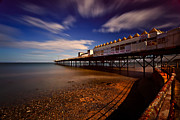North Coast Framed Prints - Victoria Pier Framed Print by Adrian Evans