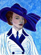 Fine Art  Of Women Paintings - Victoria by The Art With A Heart By Charlotte Phillips