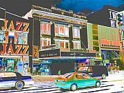 Harlem Digital Art Metal Prints - Victoria Theater 125th St NYC Metal Print by Steven Huszar