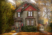 Comfy Prints - Victorian - Cranford NJ - Only the best things  Print by Mike Savad